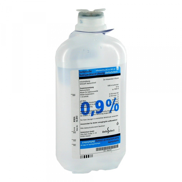 Sodium chloride 1 liter bottle