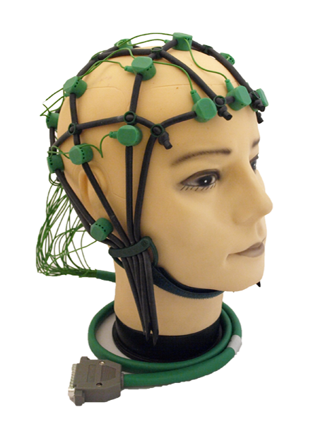 Comby Cap EEG-Cap with gold electrodes