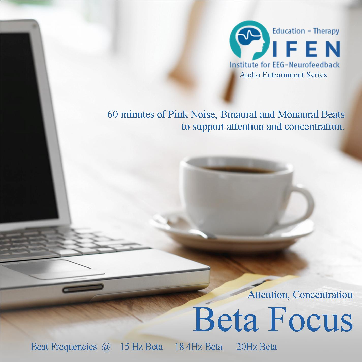 Beta Focus - Binaural Beat MP3 - Attention, Concentration