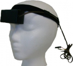 Carmen pIR HEG headset with temperature sensor